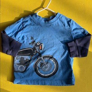 Hanna Anderson motorcycle top